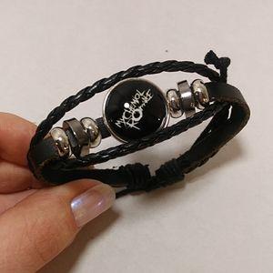 Jewelry - My chemical romance leather tie bracelet